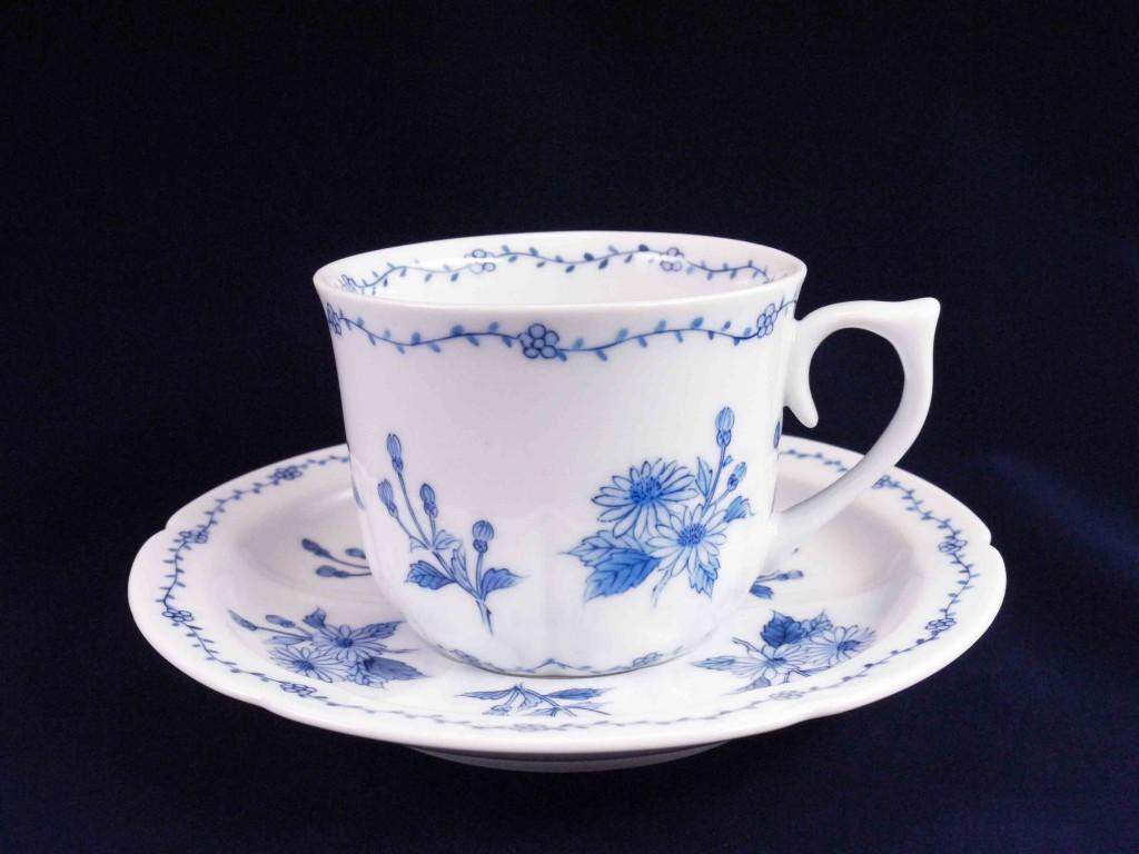 野菊図碗皿