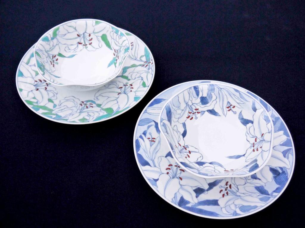 カサブランカ図鉢・皿
