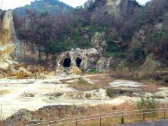 泉山 採掘跡