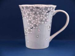 夜桜図マグカップ